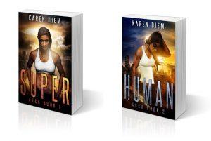 Super and Human paperbacks
